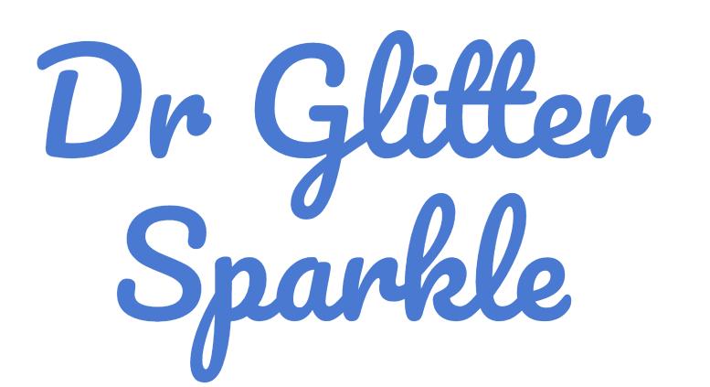 Dr Glitter Sparkle